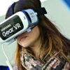 "A ""virtual reality experience"" in which Democratic National Convention attendees, using Samsung gear like this, encountered mean-spirited protesters outside an abortion clinic isn't realistic at all, pro-life groups say. (Photo: LaurentVu/SIPA/Newscom)"