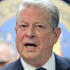 Former Vice President Al Gore joins 17 state attorneys general March 29, 2016, to announce a state-based effort to combat climate change in the Manhattan borough of New York City. (Photo: Mike Segar/Reuters/Newscom)