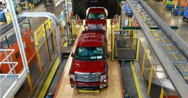 In 2015, Michigan imported $124 billion in products and many of these imports were components for auto manufacturing. (Photo: Kathleen Galligan/MCT /Newscom)