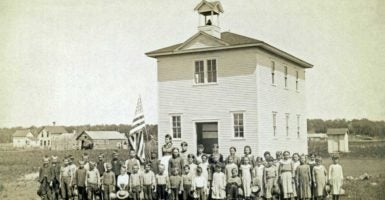 "The Common Schools movement was designed to teach all children in the same ""common"" schoolhouse. (Photo: Underwood Archives/UIG Universal Images Group/Newscom)"