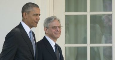 President Barack Obama's Supreme Court nominee, Merrick Garland, might get a chance at confirmation during the lame-duck session of Congress. (Photo: Ron Sachs/CNP/SIPA/Newscom)