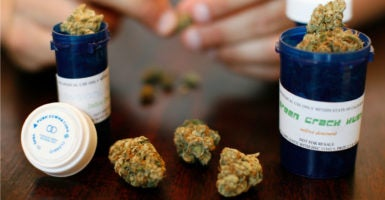 "The detrimental health effects that come from a lack of regulation overshadow the ""medicinal"" benefits of marijuana. (Photo: Mario Anzuoni/Reuters/Newscom)"