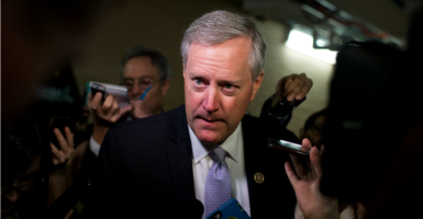 Members of the Freedom Caucus might be going their own way soon. (Photo: Tom Williams/CQ Roll Call/Newscom)