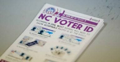 Proponents of voter ID have argued that retailers require ID to buy a variety of common items. (Photo: Chris Keane /Reuters/Newscom)