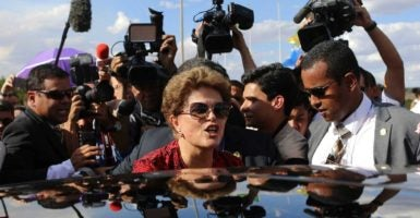 "Brazil removed former President Dilma Rousseff from power, marking a turn away from her policies of ""21st Century Socialism."" (Photo: Adriano Machado/Reuters/Newscom)"