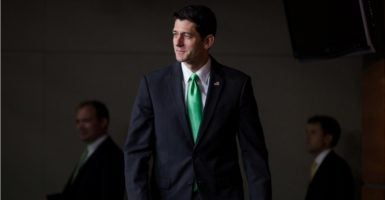House Speaker Paul Ryan, R-Wis., continues to oversee a divided Republican conference. (Photo: Jim Lo Scalzo/EPA/Newscom