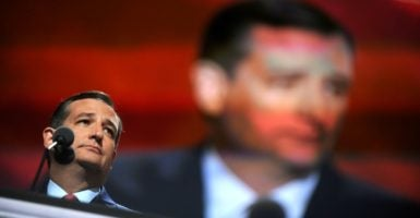 Sen. Ted Cruz, R-Texas, is leading Senate Republicans in an effort to halt the White House effort to end U.S. regulation of the internet. That effort could change the conservative strategy on spending in the House. (Photo: Dennis Van Tine /Zuma Press/Newscom)