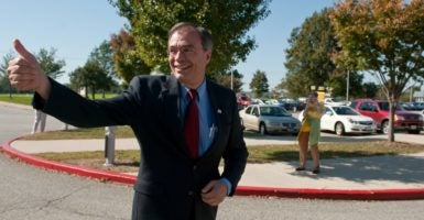 Rep. Andy Harris, R-Md., says he's the only candidate for Republican Study Committee chairman who can stop an exodus of Freedom Caucus conservatives from the group. (Photo: Bill Clark/Roll Call Photos/Newscom)