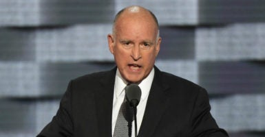 "A bill that has been passed on to California Gov. Jerry Brown's desk is designed to silence ""undercover journalists"" who might have reason to suspect foul play within organizations such as Planned Parenthood. (Photo: Pat Benic /UPI/Newscom)"