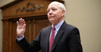 "IRS Commissioner John Koskinen insists that the impeachment articles drawn up against him ""lack merit."" (Photo: US Congress/Zuma Press/Newscom)"
