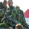 A Swedish combat team from an armored regiment trains on the island of Gotland on Sept. 14, 2016. (Photo: Soren Andersson/TT News Agency via Reuters/Newscom)