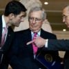 Senate Majority Leader Mitch McConnell, R-Ky., quarterbacked an effort to pass a short-term continuing resolution just three days before the federal government's spending authority expired, Oct. 1. (Photo:Tom Williams/CQ Roll Call/Newscom)