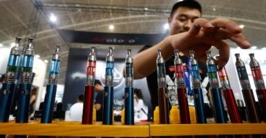 While more research on vaping may be warranted, there's significant evidence that e-cigarettes are helping many people. (Photo: Rolex Dela Pena /EPA/Newscom)
