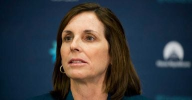 Rep. Martha McSally, R-Ariz., heads a committee addressing the challenges women face in the 21st century economy. (Photo:  Bill Clark/CQ Roll Call/Newscom)