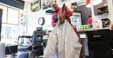 "The Arizona State Board of Barbers issued a""final warning"" in response to reports that barber shops in the state were ""allowing unlicensed individuals or students to work."" (Photo: Jetta Productions Blend Images/Newscom)"