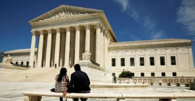 The Supreme Court should not go one step further in criminalizing conduct that has not been clearly proscribed by Congress. (Photo: Kevin Lamarque/Reuters/Newscom)