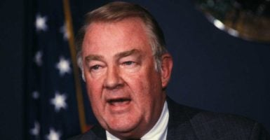Edwin Meese III played a key role in bringing the Founders' interpretation of the Constitution back to mainstream jurisprudence. (Photo: Pamela Price/Zuma Press/Newscom)