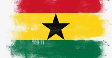 The African country of Ghana was a haven for slave traders in previous centuries. Today, the country is improving but needs economic freedom to thrive. (Photo: Ingram Publishing /Newscom)
