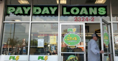 A new rule will shut down an estimated 85 percent of small-dollar loans made. (Photo: J. Emilio Flores/La Opinion/Newscom)
