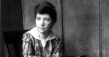 Planned Parenthood was founded on Oct. 16, 1916, by population control advocate Margaret Sanger. (Photo: Everett Collection/Newscom)