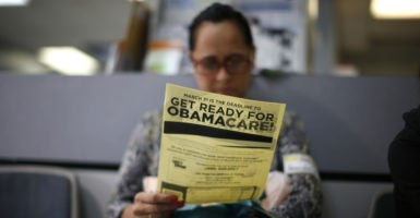 In all but one of 14 states, health insurance premiums will increase an average of at least 10 percent. (Photo: Lucy Nicholson/Reuters/Newscom)