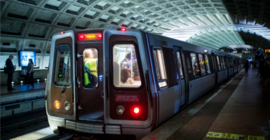 Metro officials are too busy protecting negligent employees, demanding more money from taxpayers, and playing catch-up for years of neglected maintenance to even consider providing an additional service that consumers would want. (Photo: Bill Clark/CQ Roll Call/Newscom)