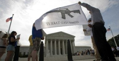 The Second Amendment has come under siege in the courts. (Photo: Chuck Kennedy/MCT /Newscom)