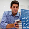 "Rep. Paul Ryan, R-Wis., signs copies of his book, ""The Way Forward,"" on Aug. 27, 2014, in Thornton, Colorado. Before its release, the Federal Election Commission investigated a complaint about its political contents. (Photo: Tom Williams/CQ Roll Call/Newscom)"