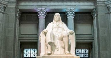 Unlike some other Founders, Benjamin Franklin opposed focusing on the classics. (Photo: John Greim Photography/Newscom)
