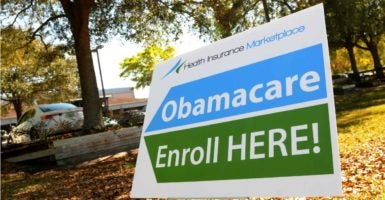 "One state's health commissioner says the Obamacare health care exchanges in his state are ""very near collapse."" (Photo: Paul Hennessy /Polaris/Newscom)"