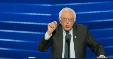 Do you wonder why Sen. Bernie Sanders and his ideas are so popular among American college students? The answer is that they, like so many other young people who think they know it all, are really uninformed and ignorant. (Photo: Richard Ellis/Zuma Press/Newscom)