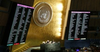 The United States abstained from voting on a United Nations resolution condemning America's embargo on Cuba. (Photo: Chine Nouvelle/SIPA /Newscom)