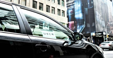 With the number of active Uber drivers topping 650,000, the U.S. has more drivers with ride-hailing companies than it does traditional taxi drivers. (Photo: iStock Photos)