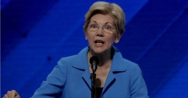 Sen. Elizabeth Warren, D-Mass., wrote an op-ed that misrepresents the problem of voter fraud. (Photo: Mark Reinstein/ZUMA Press/Newscom)