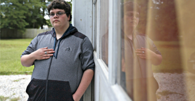 Gavin Grimm, who was born a girl but identifies as a boy, wants to use the boys' restrooms at Gloucester High School in Virginia. The Supreme Court will hear aspects of the case. (Photo: Jonathon Gruenke/Newport News Daily Press/TNS/Newscom)