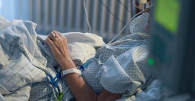 Physician-assisted suicide allows a medical professional you don't know to decide if your life is worth living. (Photo: Britta Pedersen/dpa/picture-alliance/Newscom)