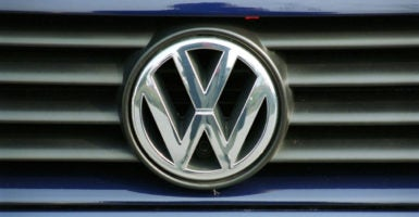 """VW may be able to obtain substantial competitive benefits, if not a monopoly on electric vehicle infrastructure,"" say two GOP lawmakers. (Photo: Caro/Marc Meyerbroeker /Newscom)"
