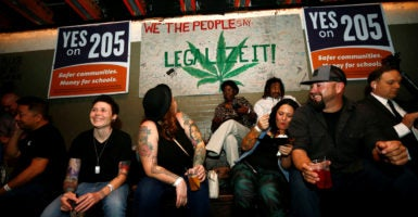 Voters in nine states weighed in on ballot measures legalizing medical marijuana or recreational marijuana. (Photo: Nancy Wiechec/Reuters /Newscom)