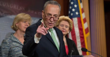 To overcome a filibuster from Senate Democrats, Republicans could invoke the two-speech rule, a seldom-used Senate rule that allows bills to pass with a simple majority. (Photo: Perisha Gates/ZUMA Press/Newscom)