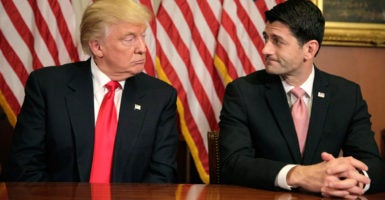 House Speaker Paul Ryan, R-Wis., will oversee a House GOP vote on earmarks Wednesday. Conservatives say President-elect Donald Trump's win should dissuade Republicans from even thinking about reviving earmarks. (Photo: Joshua Roberts/Reuters/Newscom)