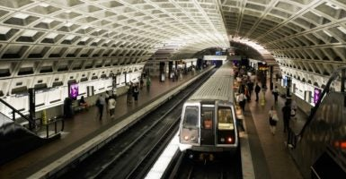 Rather than forcing Metro to become fiscally sustainable, a federal takeover would allow Metro's unsustainable operations to continue unchecked with taxpayers bearing the cost. (Photo: John Greim/John Greim Photography/Newscom)