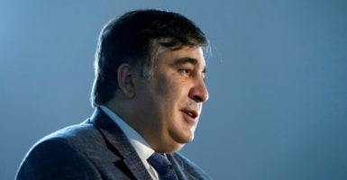 """To bring a new generation into Ukrainian government, I want to change the entire political class,"" former Georgian President Mikheil Saakashvili says. (Photo: Valentyn Ogirenko /Reuters /Newscom)"