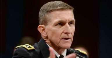 Michael Flynn, a retired U.S. Army lieutenant general, has been picked to fill the role of assistant to the president for national security affairs. (Photo: Michael Reynolds/EPA /Newscom)