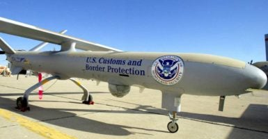 The U.S. Department of Homeland Security shut down a border aerial surveillance program. (Photo: Gerald L Nino/ZUMA Press/Newscom)
