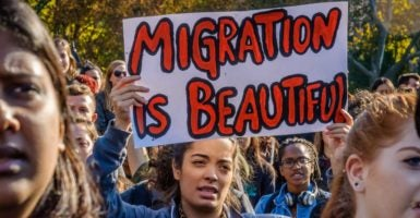 Sanctuary college campuses that intend to harbor illegal immigrants are cropping up across the nation. (Photo: Erik Mcgregor/ZUMA Press/Newscom)