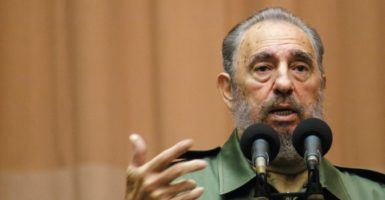 Fidel Castro died Friday at the age of 90. (Photo: Michael A. Mariant/ZUMA Press/Newscom)