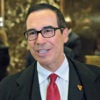 Steven Mnuchin, the president-elect's choice to run the Treasury Department, arrives Nov. 30 at Trump Tower in New York City.  (Photo by Albin Lohr-Jones /ABACA USA/Newscom)