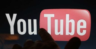 YouTube restricted PragerU videos on its website in October, now it's taken a video down entirely. (Photo: Konkov Sergei/Zuma Press /Newscom)