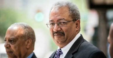 Former U.S. Rep. Chaka Fattah, D-Pa., was sentenced to prison on Monday. (Photo: Michael Ares/TNS /Newscom)