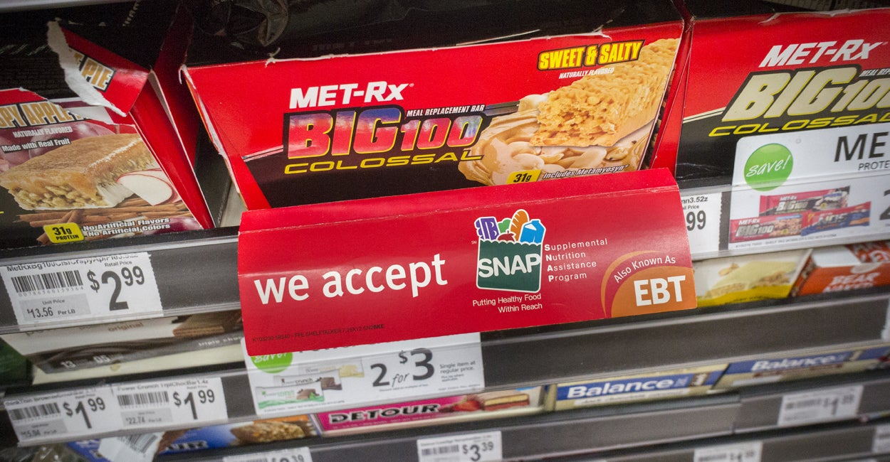 Government Food Stamps Discontinued